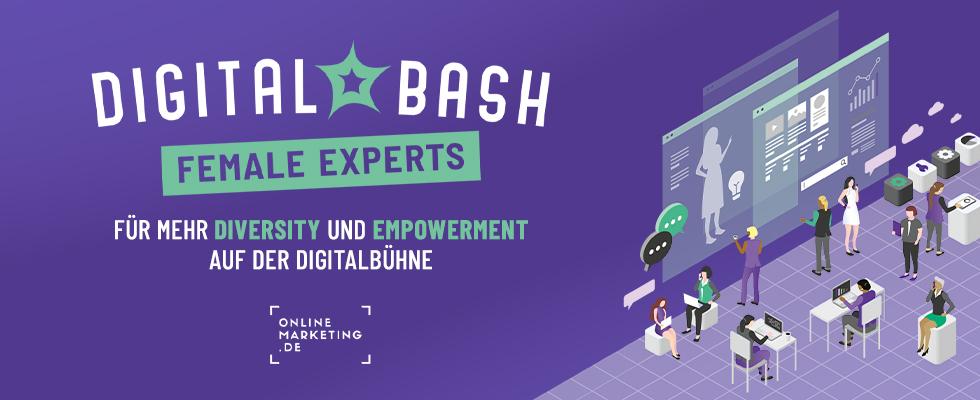 Bühne frei: Das ist der Digital Bash – Female Experts