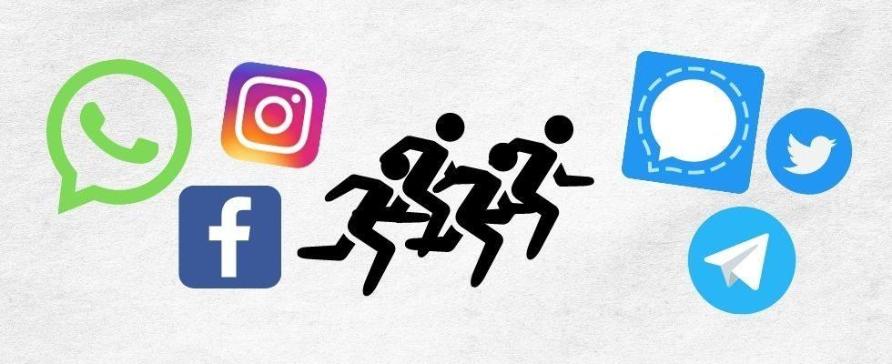 Nach Facebook-Ausfall: Signal und Co. erleben starken User-Zuwachs