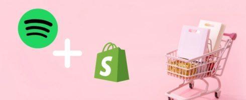 Hören und Shoppen: Spotify kooperiert mit Shopify